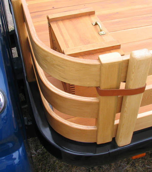 Wood Truck Tops ~ Dream machine